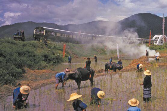 Thailand Reisbauern © lernidee.de