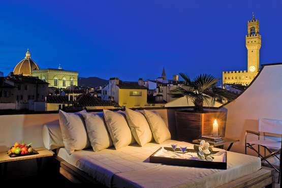 Terrasse einer Suite