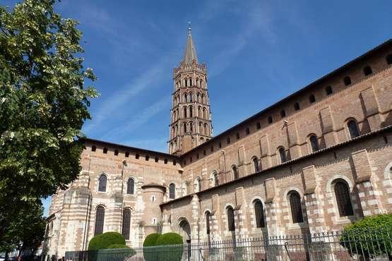 Toulouse, Basilique Saint-Sernin © Frantour - cru