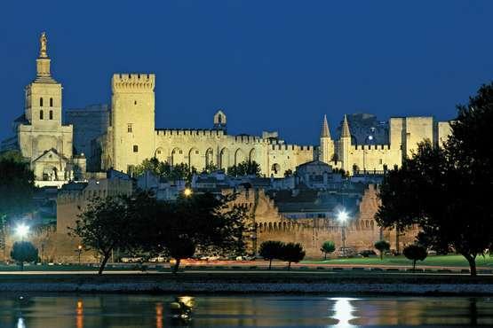 Der Papstpalast © OT Avignon