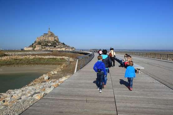 Le Mont-Saint-Michel © Atout France/Franck Charel