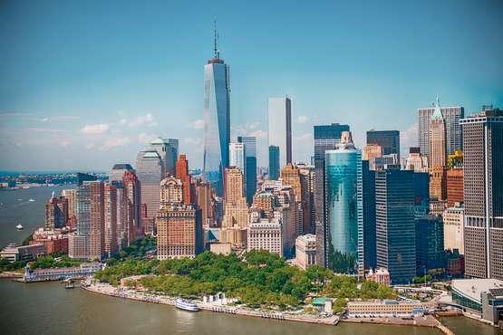 Battery Park, World Trade Center, Manhattan