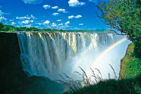 Zimbabwe les cascades de Victoria © www.lernidee.de