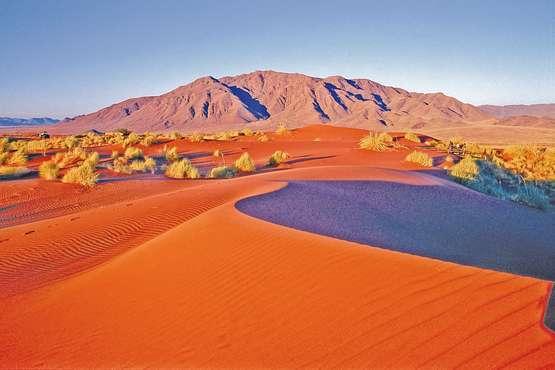 la Namibie le désert Namib