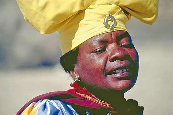la Namibie Hereros