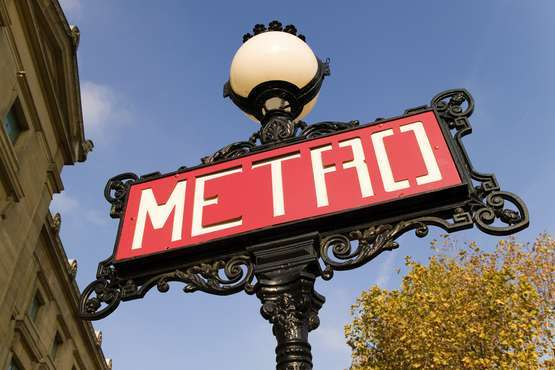 Metro © Paris Tourist Office - Marc Bertrand