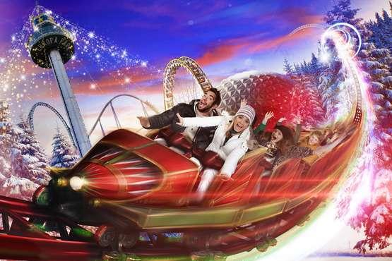 CanCan Coaster en hiver © Europa-Park
