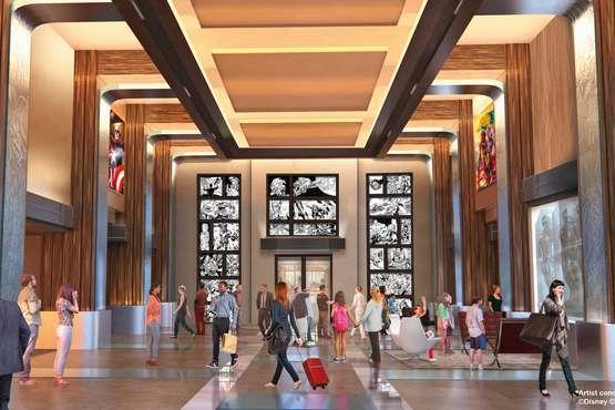 Disney's Hotel New York © Disney  2019 Marvel