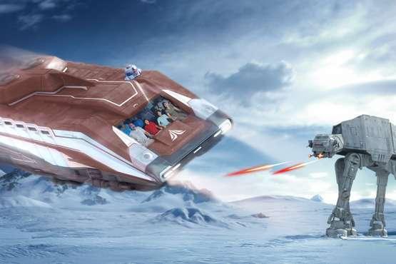 Star Wars: Star Tour © Disney