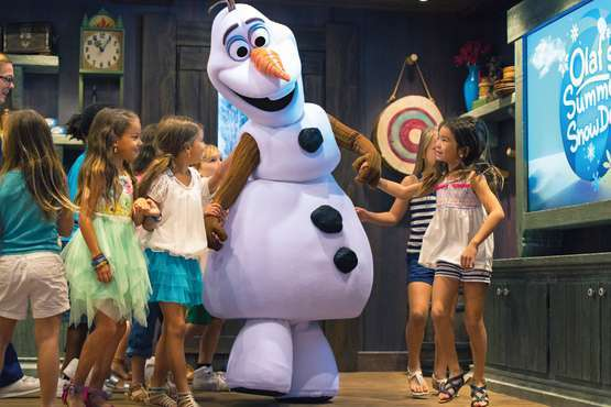 Meet and Greet Olaf © Disney