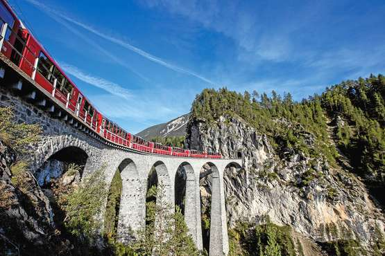 Bernina Express © Rhätische Bahn/Andrea Badrutt