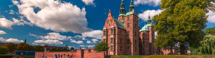 Schloss Rosenborg mit dem Königsgarten