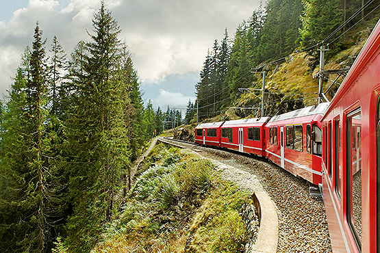 Tirano - Lugano - Coire