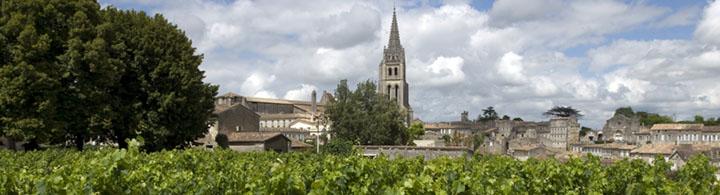 excursion demi-journée à St Emilion (env. 5h)