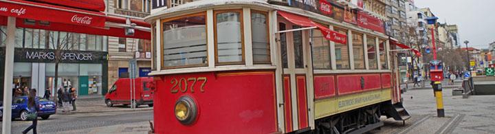 Stadtrundfahrt im Nostalgie-Tram (40 Minuten)