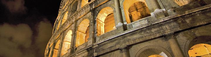 Le Colisée au clair de lune