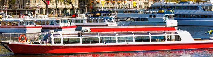 Stockholm mit dem Schiff