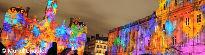 Lyon - Fête des Lumières 06. - 09.12.2018
