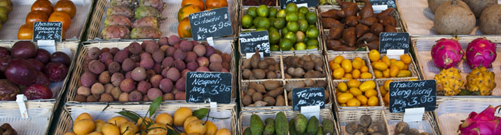 Parcours dégustation au marché aux victuailles (env. 2h)