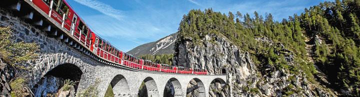 Ausflug Bernina Express