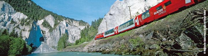 von Brig nach St. Moritz