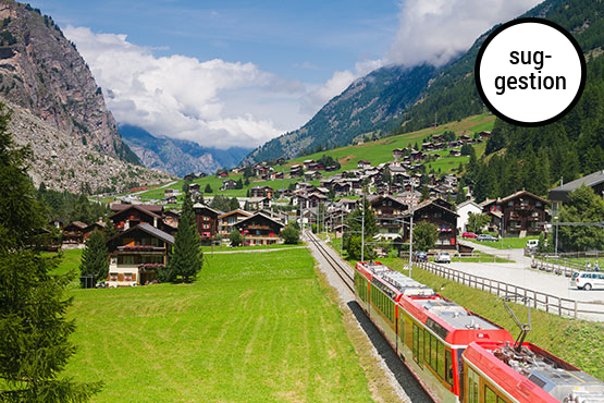 Brigue - St. Moritz
