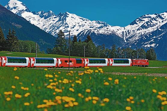 Zermatt - St. Moritz - Zermatt