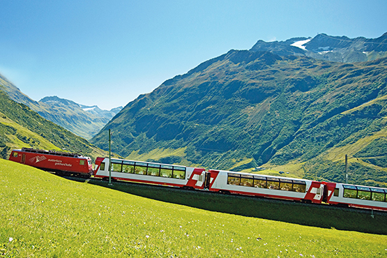 St. Moritz - Zermatt - St. Moritz