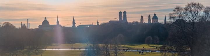 Le Jardin anglais, poumon vert de Munich
