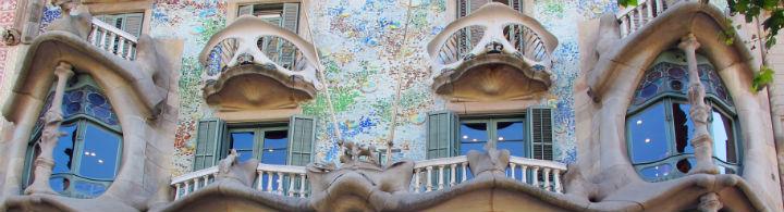 La Casa Batlló de Antoni Gaudí