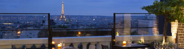 Der Rooftop des Terrass'Hotel