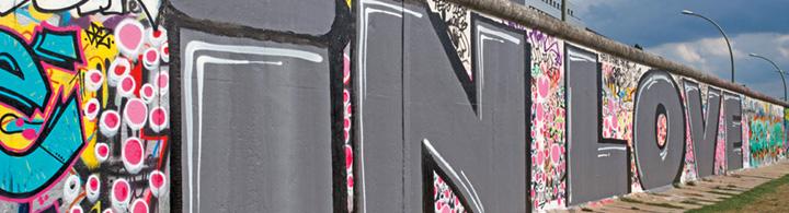Berliner Mauer – Kunstwerke im vorbeigehen