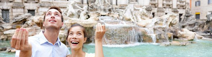 Fontana di Trevi – un, deux ou trois