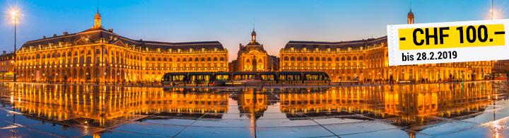 Kurztrip nach Bordeaux