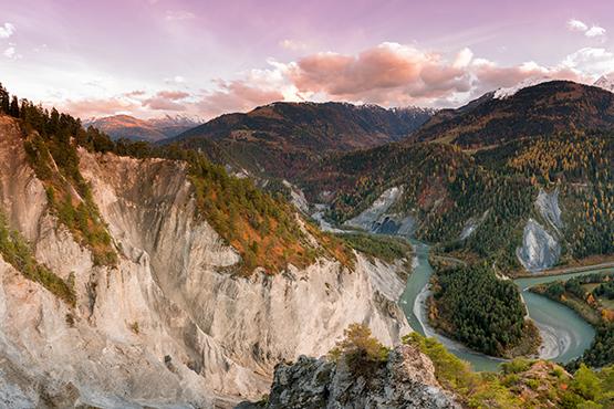 Ruinaulta – Der Grand Canyon der Schweiz