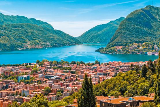 Treffen Sie Einheimische in Lugano