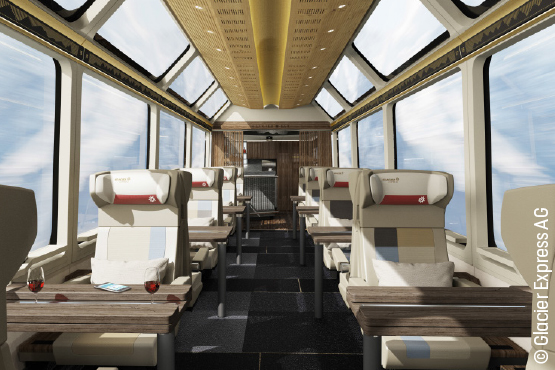 Glacier Express Excellence Class
