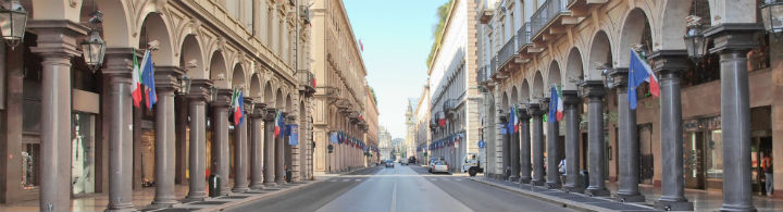 Flaniermeile Via Roma