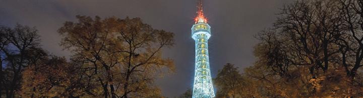 Petřín – der Eiffelturm Prags