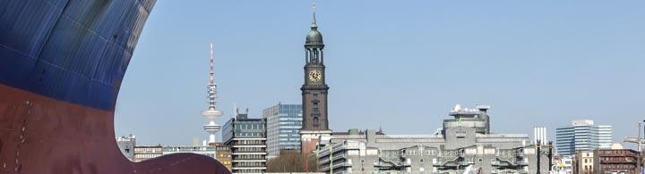 Hamburg mit Flug