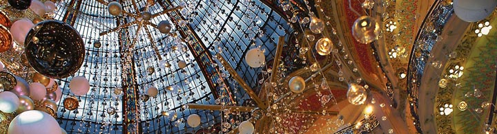 Paris Christmas Shopping