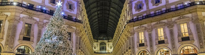 Mailand Christmas Shopping