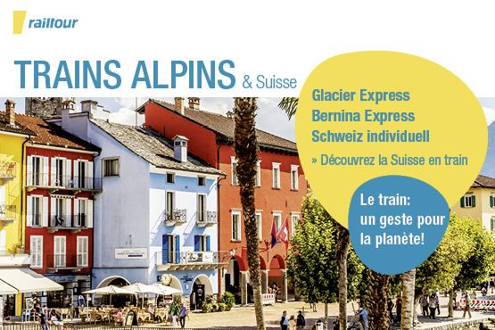 Trains alpins & Suisse