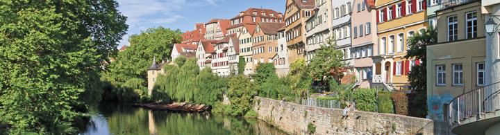 Tübingen – Mittelalterliche Unistadt, nur 3 h per Bahn