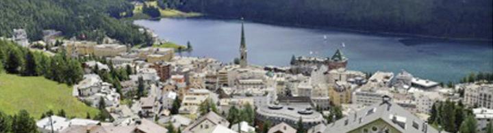 St. Moritz  –  Carte postale des Grisons