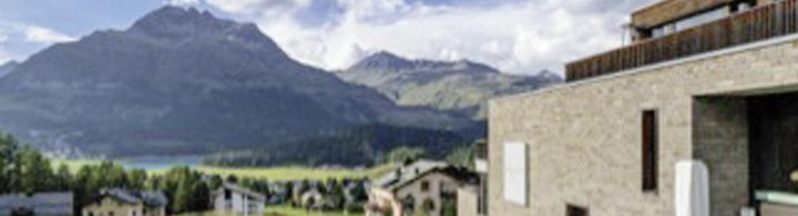 Silvaplana  –  See & Berge