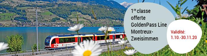 Goldenpass Line Montreux – Lucerne
