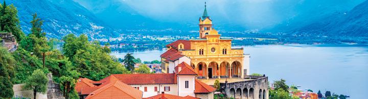Locarno-Orselina –  Votre balcon sur le lac Majeur