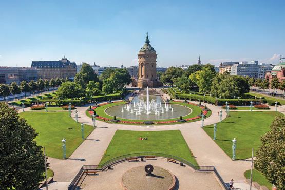 Mannheim &ndash; Unistadt </br>am Rhein und Neckar