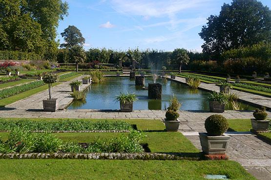 Landsitze und Gärten